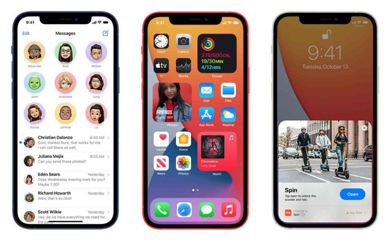 ios 14 iphone 12