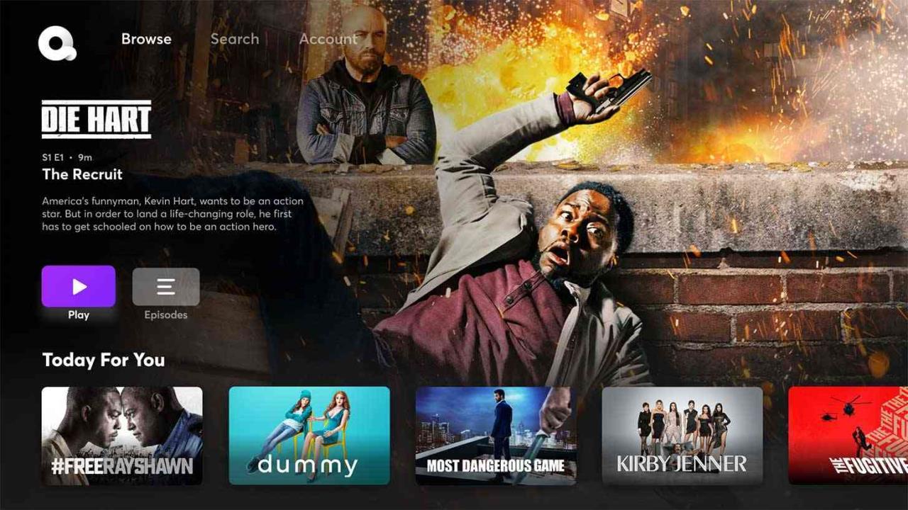 quibi tv apps