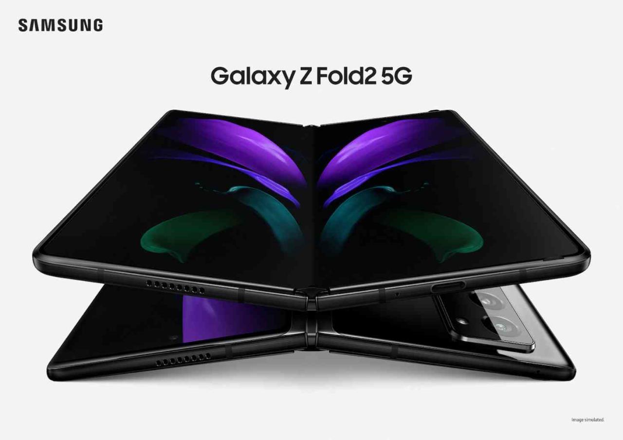 Samsung Galaxy Z Fold 2 5G anuncio