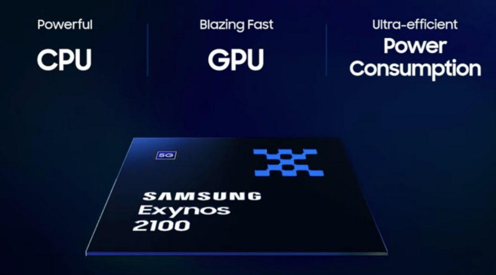 samsung exynos 2100 cpu gpu 5g
