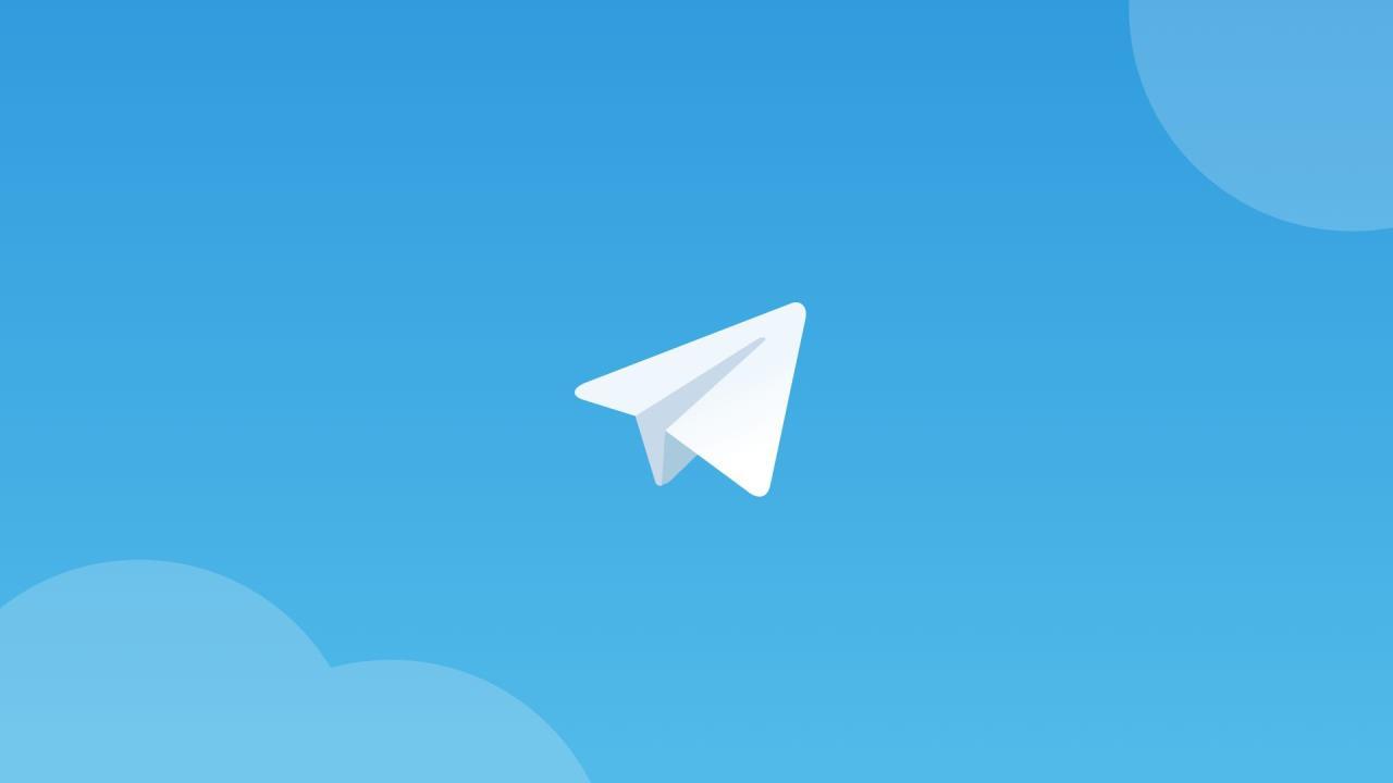 telegram app logotipo