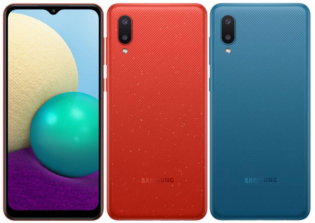 Samsung Galaxy A02 oferece Infinity-V, Android 10 e 5.000mAh