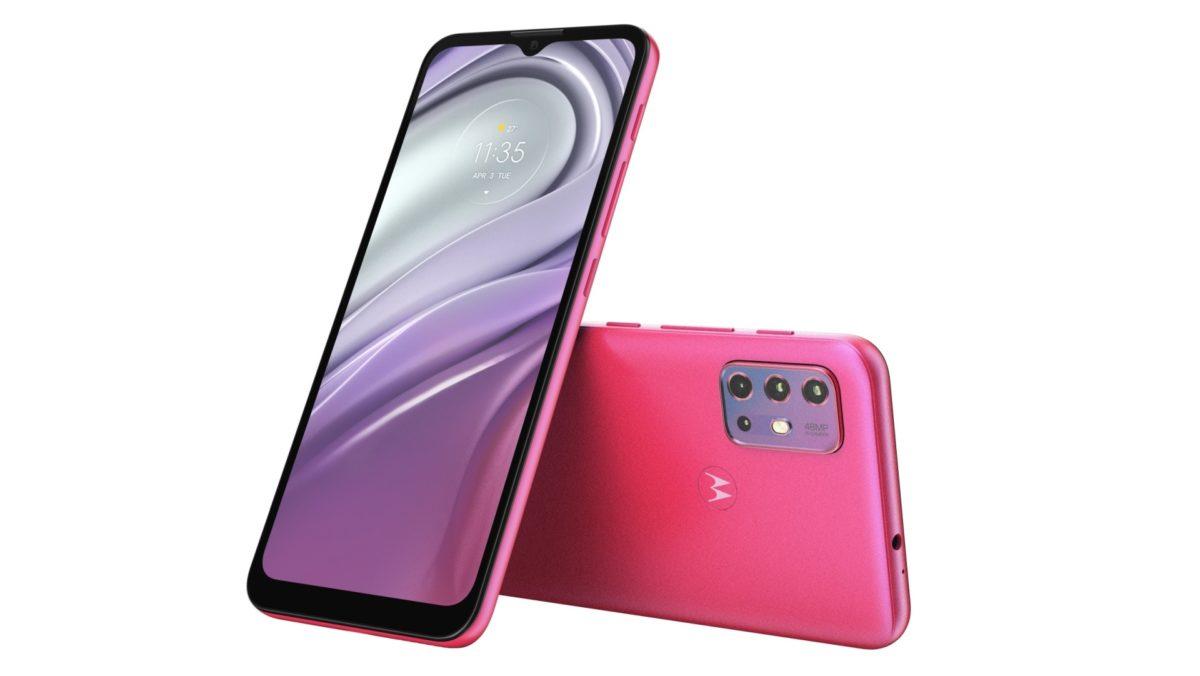Motorola G20 rosa