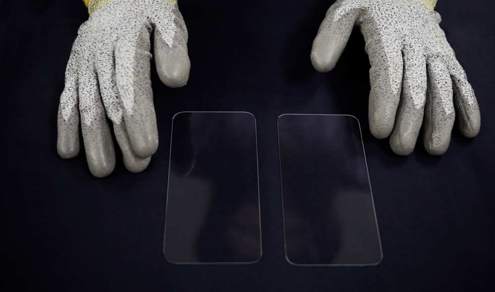 apple iphone corning