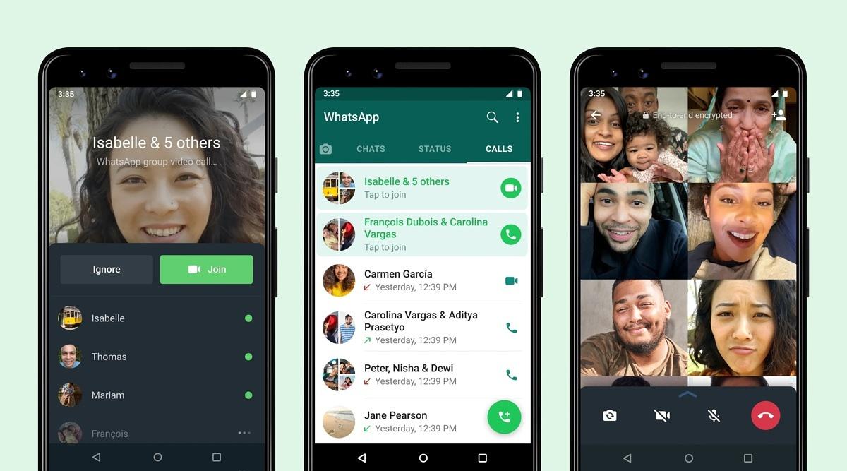 WhatsApp ahora permite unirse a las llamadas de grupo que ya han comenzado