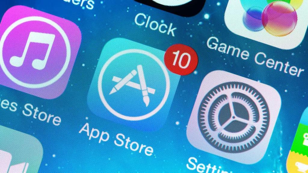 apple app store icone ios