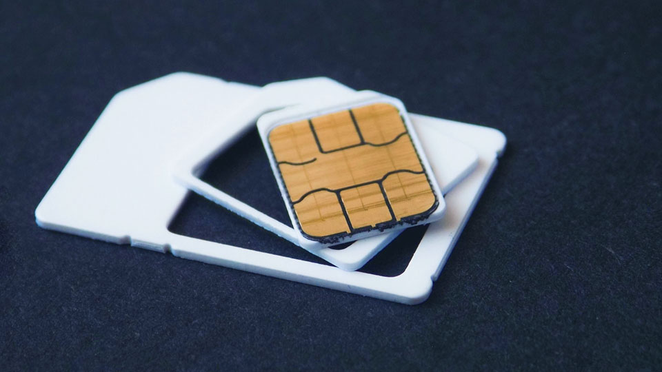 sim card and adapter