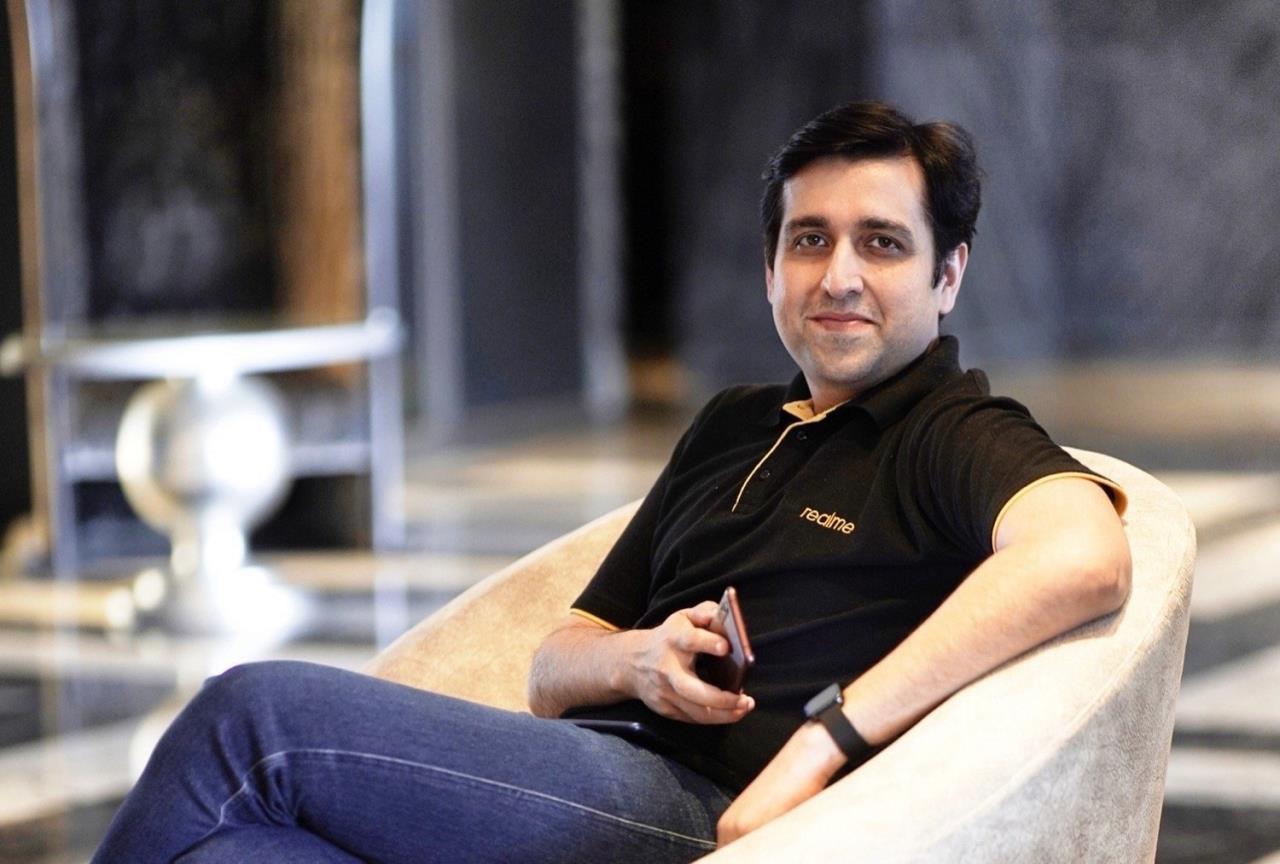 CEO da Realme na Índia e Europa, Madhav Sheth