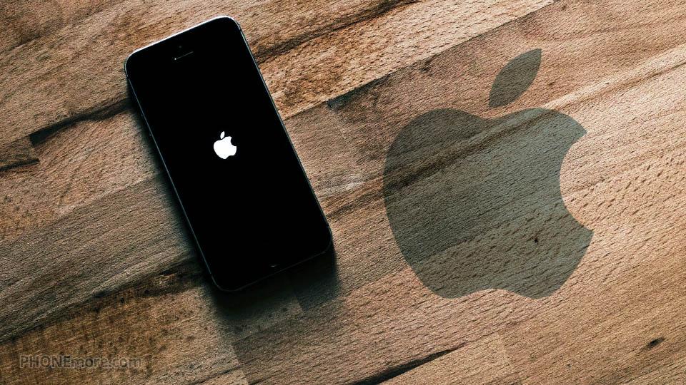 iphone sur le bois
