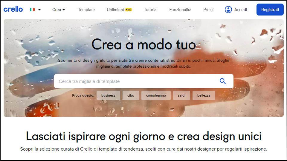 sito web di crello